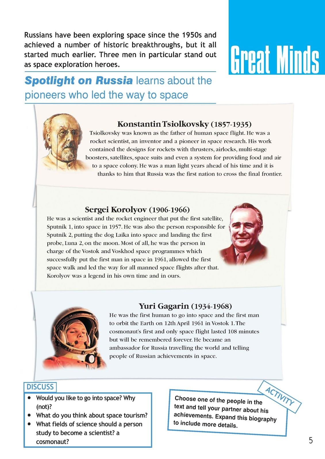 Spotlight on russia 5 класс решебник
