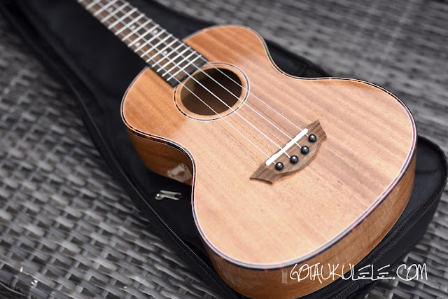 VTAB FL-T15 Tenor ukulele top