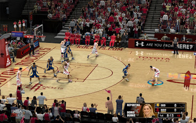 Download NBA 2K13 Rockets Toyota Center Court Patch