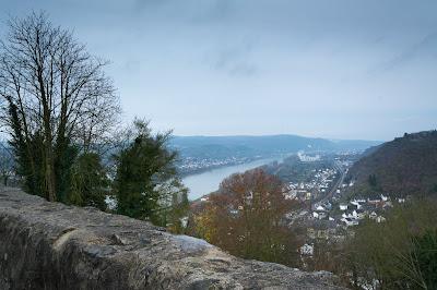 Rhine Gorge from Marksburg Castle