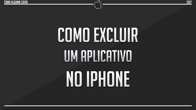 Como excluir um aplicativo no iPhone
