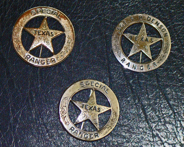 the NAVASOTA CURRENT: Texas Ranger Badges    and those that want to be