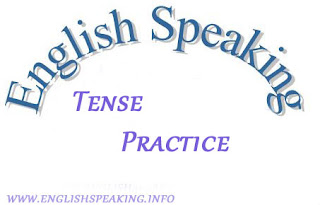 English Speaking Tense Practice