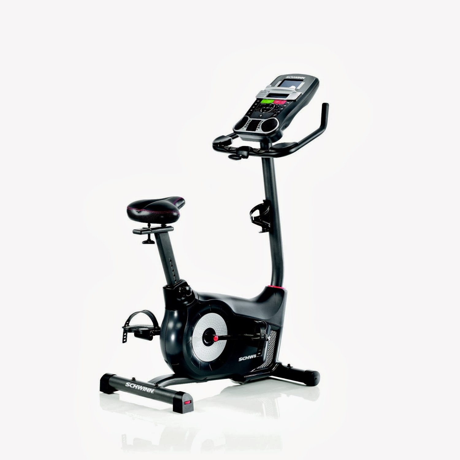 The new Schwinn 170 Upright Exercise Bike helps you get fit, burn calories and lose weight