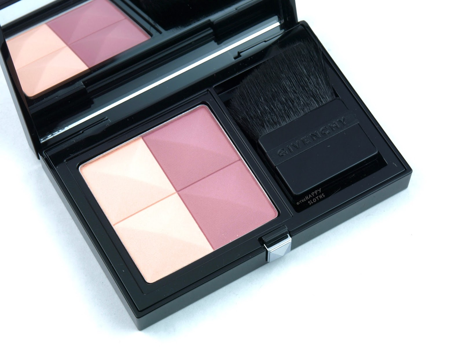 "Givenchy Prisme Blush Highlight & Structure Powder Blush Duo ""06 Romantica"": Review and Swatches"