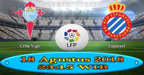 Prediksi Bola855 Celta Vigo vs Espanyol 18 Agustus 2018