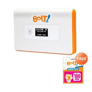BOLT 4G dan Cara Unlock