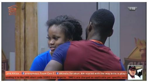 #BBNaija: Is Tobi getting Friendzoned? Watch The Heated Argument Between Tobi and Cee-C (VIDEO)