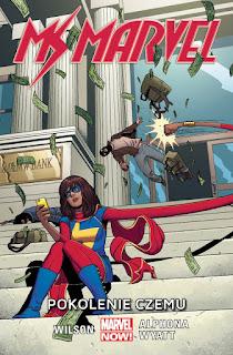 Ms Marvel tom 2: Pokolenie Czemu okładka