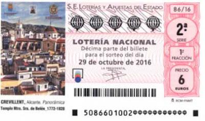 loteria nacional del sabado 29 de octubre de 2016