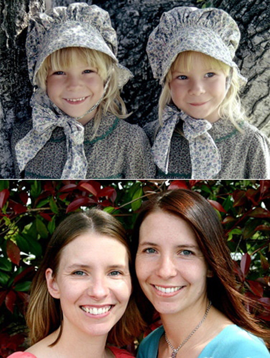 15 grace ingalls wendi et brenda turnbaugh Cast of little house on the prairie now