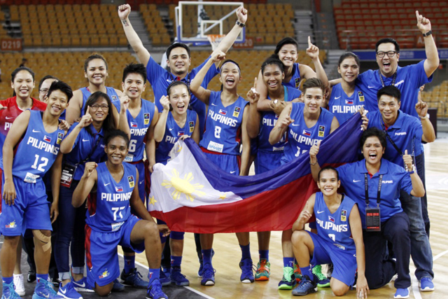 Perlas Pilipinas routs Thailand, wins gold in SEABA Women's Championship 2016