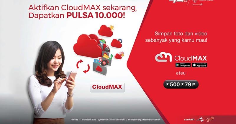 Aplikasi Cloudmax Personal Cloud Storage Service Grapari Banjarbaru