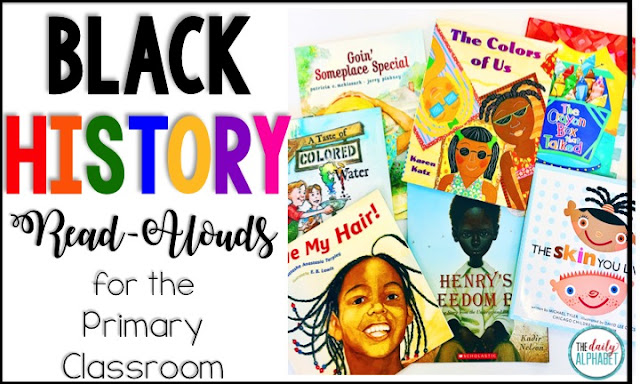 These books are some of my fave read-alouds for black history month. I love how they reinforce how wonderful we are, regardless of skin color, and how important it is to stand up for what's right.