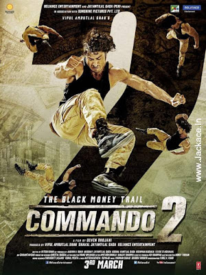 Commando 2 Budget, Screens & Day Wise Box Office Collection