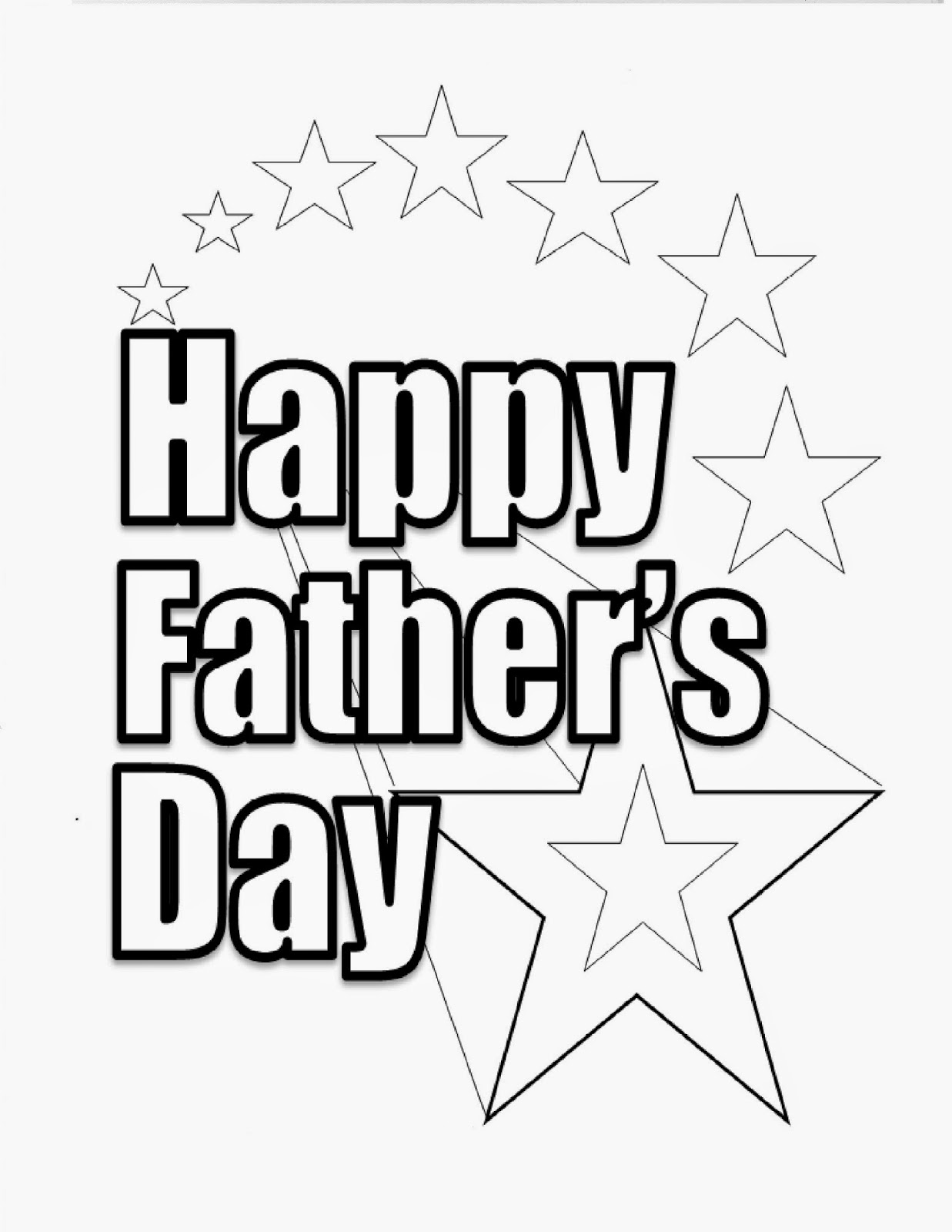 Day coloring pages to print ~ Let It Shine: Father's Day Coloring Pages