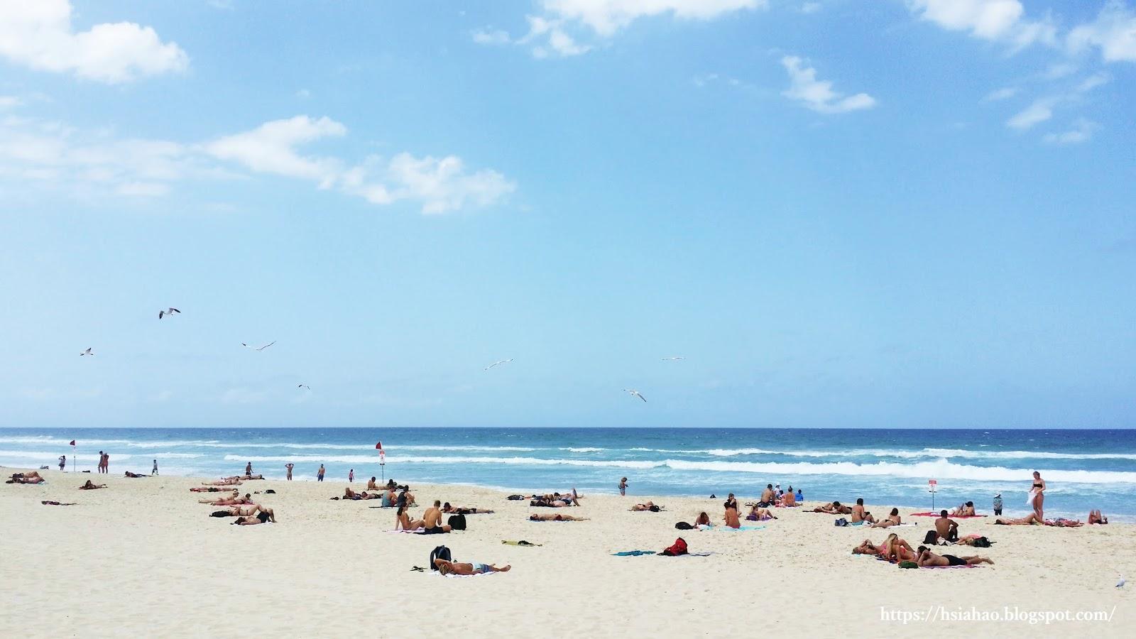 黃金海岸-衝浪者天堂-海灘-推薦-景點-Gold-Coast-Surfers-Paradise-Beach