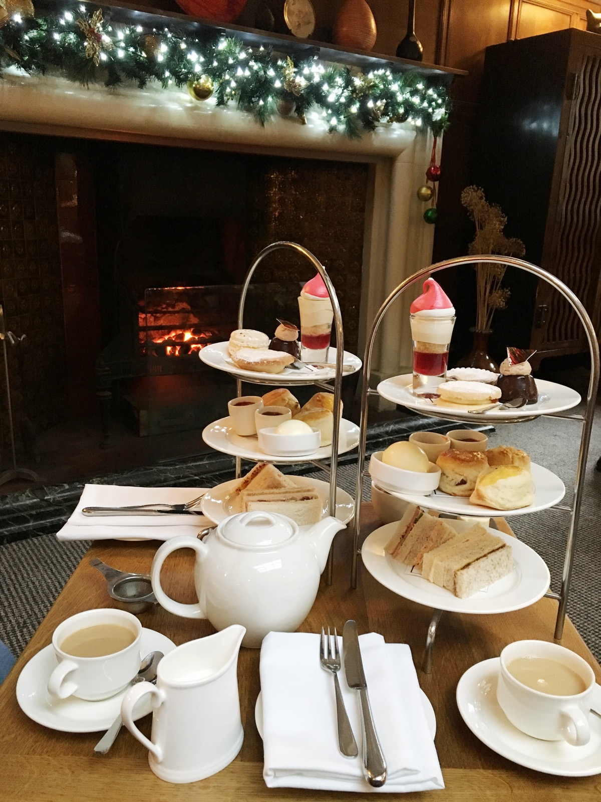 Christmas at Jesmond Dene House - Festive Afternoon Tea