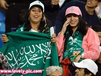 رمزيات مشجعات السعودية