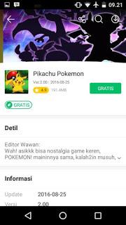 Pikachu Pokemon Apk v2.0 Mod Unlimited Money Terbaru