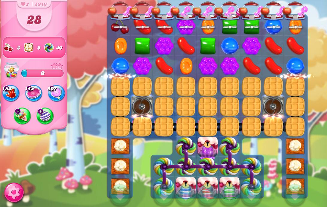 Candy Crush Saga level 5916