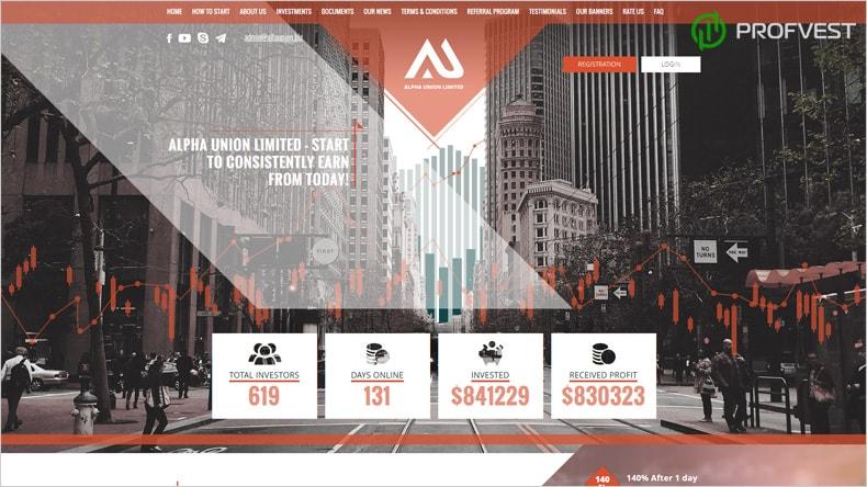 Успехи работы и повышение Alfa Union