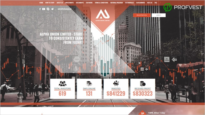 Alfa Union: обзор и отзывы HYIP-проекта