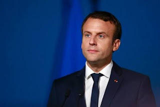 Watch the President of France, Emmanuel Macron, as he introduces himself in Nigerian Pidgin