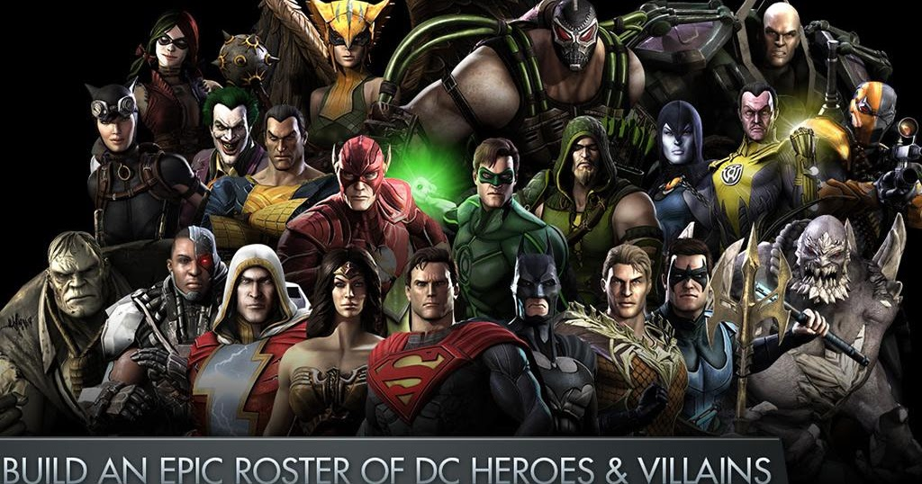 Injustice Gods Among Us v2.13 APK + DATA For Android All