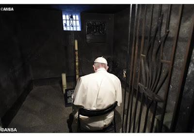 Papa recorda São Maximiliano Kolbe