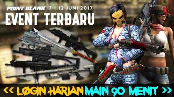 Event PB Garena 7 Juni 2017