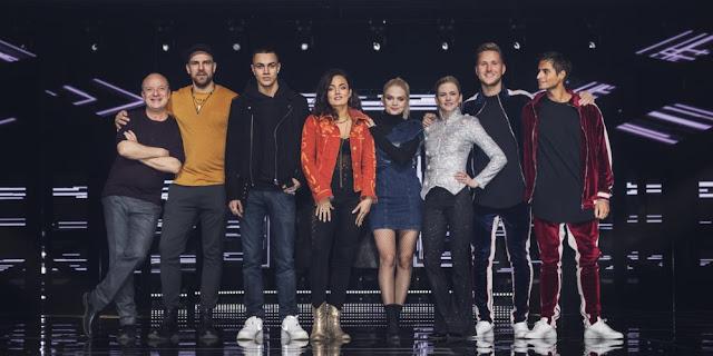 Participantes de la segunda semifinal del Melodifestivalen 2018