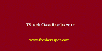 TS 10th Class Results 2017