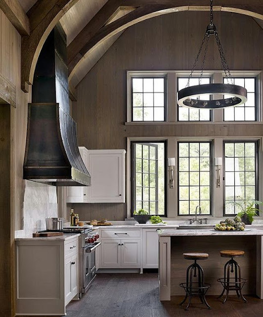 South Shore Decorating Blog: Beautiful And Neutral Kitchen
