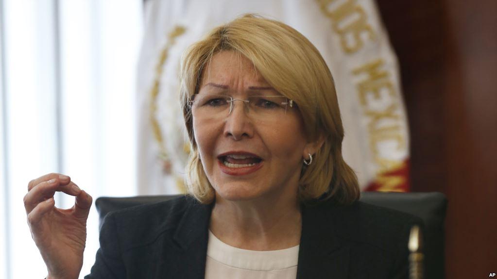 Ortega fue colocada en el cargo por el chavismo y hoy es  muy crítica a Maduro / AP