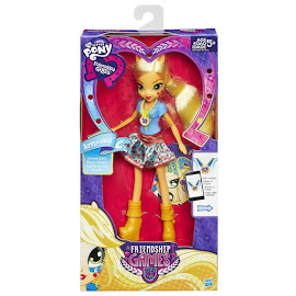 MLP Equestria Girls Friendship Games School Spirit Applejack Doll