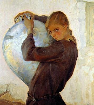La chica del cantaro, Francisco Pons Arnau, Pintor español, Pintor Valenciano, Pintura Valenciana, Impresionismo Valenciano, Pintor Pons Arnau, Retratos de Pons Arnau