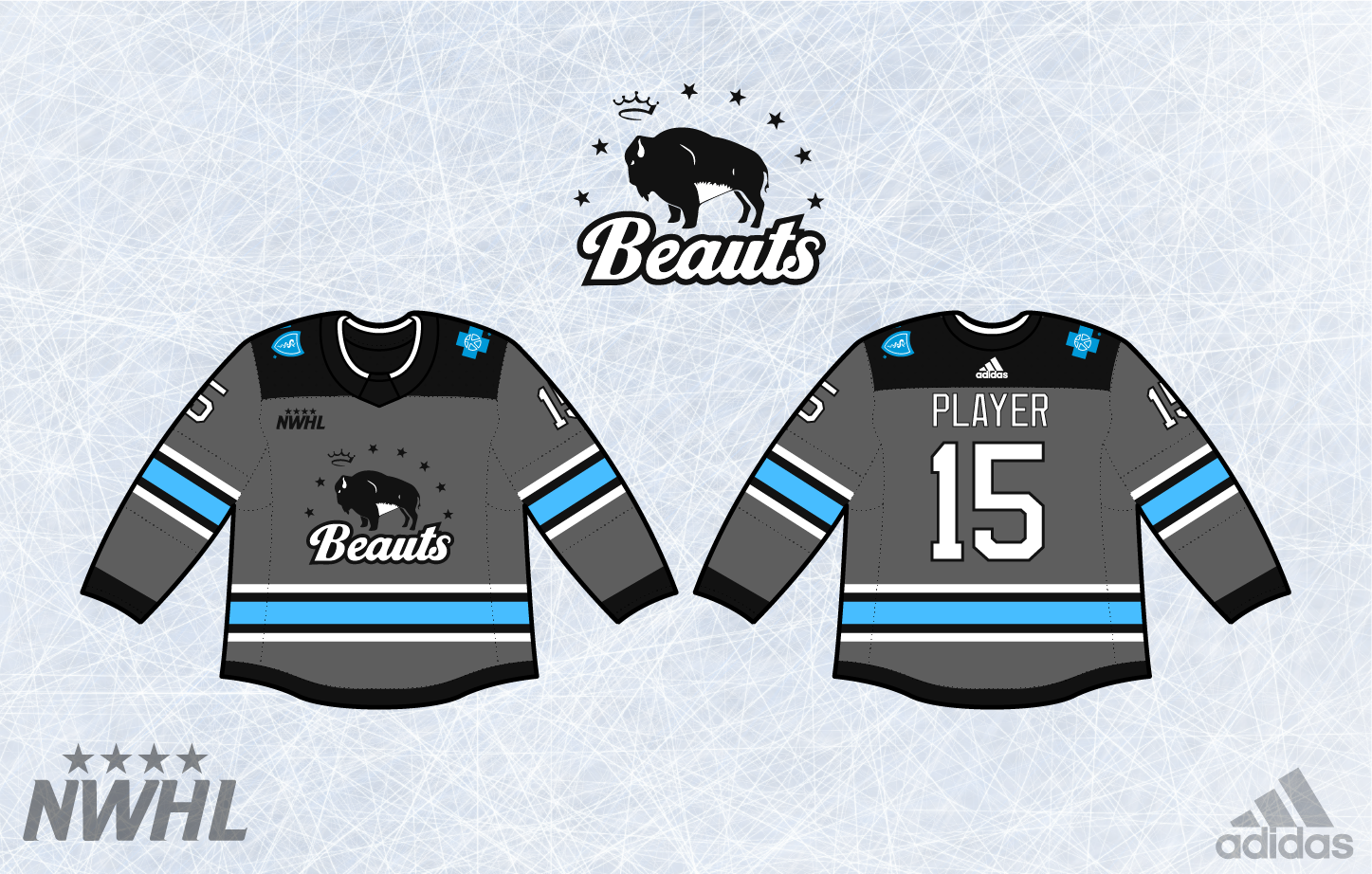 Sports Logo Spot  NWHL Concepts Part 1 1f68725b3db