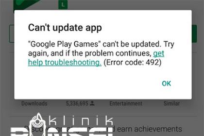 6 Cara Mudah Atasi Error 492 di Google PlayStore