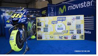 Kemungkinan masih Absen di Aragon, Yamaha Cari Pengganti Rossi