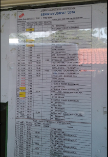 Jadwal Shuttle Bus Lippo