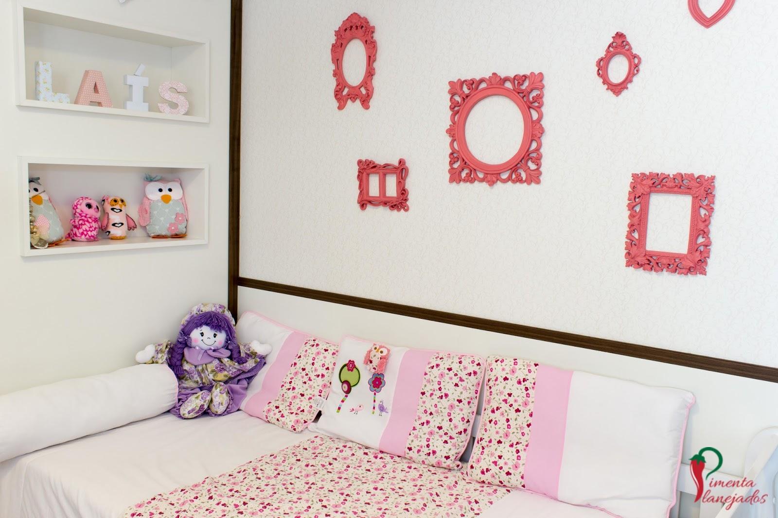 Quarto de menina   5 dicas de decoração ~ Pimenta Planejados #382111 1600x1066