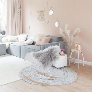 Desain Ruang Keluarga Minimalis Romantis
