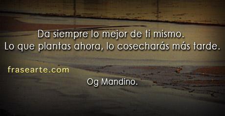 Da siempre lo mejor de ti mismo - Og Mandino