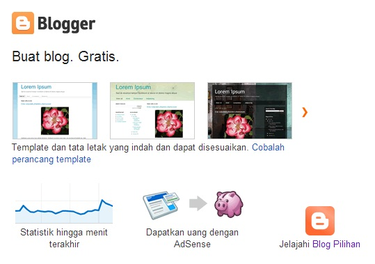 Blog Gratis Blogspot