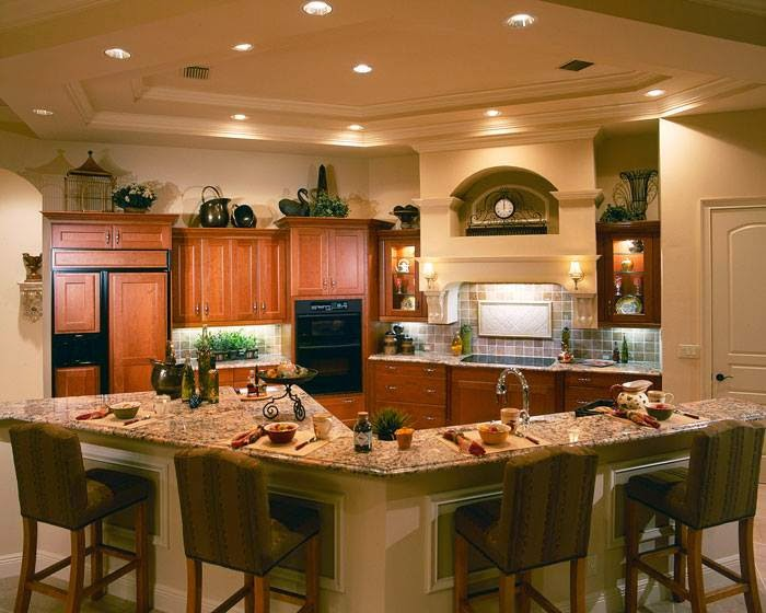 المجموعه الرابعه من ديكورات المطابخ تشكيله رائعه Kitchens