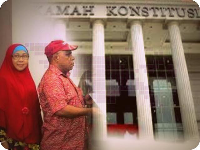 Terkait Pilkada Kota Sorong, MK Tolak Permohonan Amos Lukas Watori dan Noorjannah