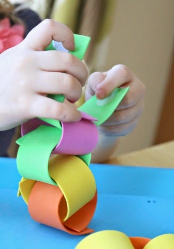 fine motor activity using velcro