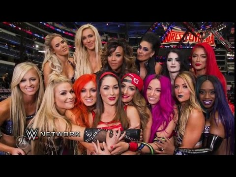 Sasha Banks, Charlotte, Becky Lynch and the women of WWE prepare for WrestleMania 32