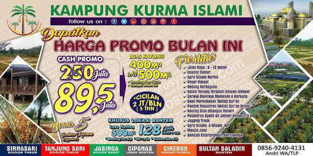 Kampung Kurma, Kavling Kurma, kavling Kampung Kurma, Kavling Kurma Tanjungsari Penipuan